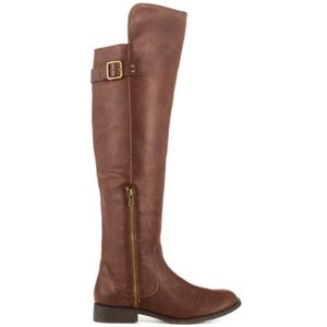 Brown Over The Knee Riding Boots🏇🏽